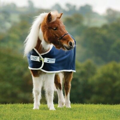 Accurato Horseware Amigo Petite Jersey Cooler-navy/silver-abschwitzdecke- Ufficiale 2019