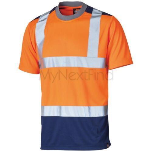 SA22081 Dickies High-Visibility Two-Tone T-Shirt