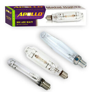 Image is loading Apollo-Horticulture-400w-600w-1000w-Watt-MH-HPS-  sc 1 st  eBay & Apollo Horticulture 400w 600w 1000w Watt MH HPS Grow Light Bulb HID ...