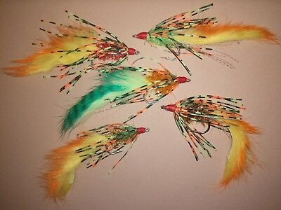 Assorted Fire-Tiger Size 1//0 Sold Per 3 Bass Great Fish Patterns