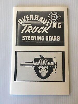 1947 1948 1953 1954 Chevrolet Truck Assembly Manual Rebuild Instructions Details