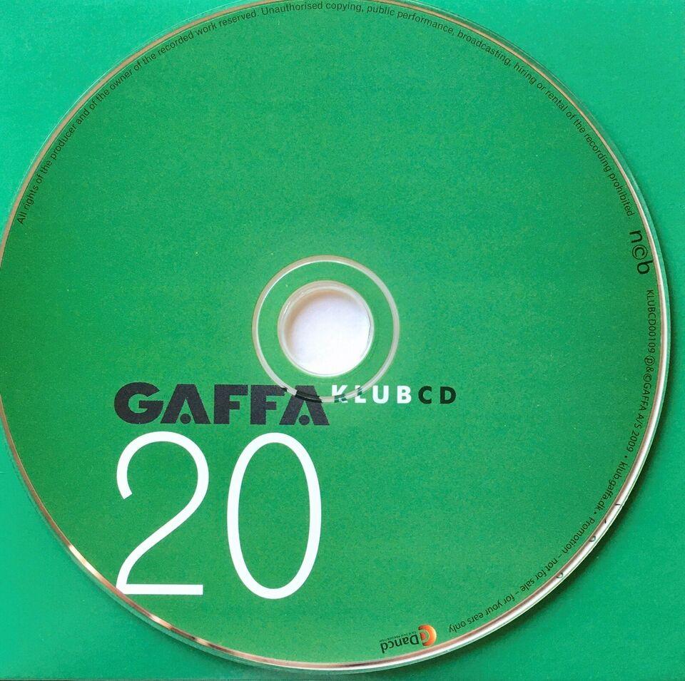 Diverse Kunstnere: GAFFA Klub cd#20, electronic