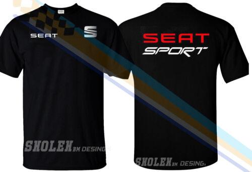 NEW LIMITED SEAT SPORT RACING EMBLEM DRAG GILDAN T-SHIRT