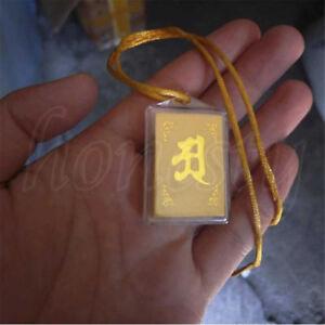 Tibet-Tibetan-Mikky-Tantric-Buddhist-Shurangama-Mantra-OM-Amulet-pendant-Gift
