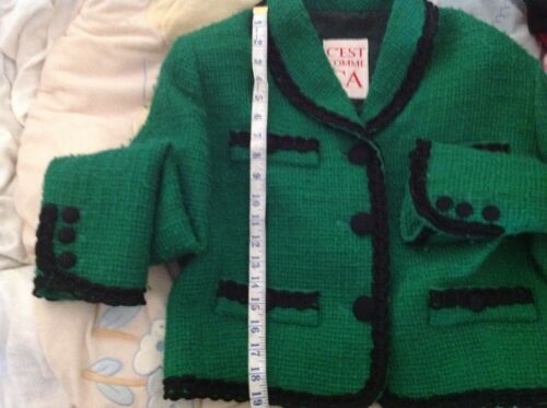 C'est Jacket By Designed Comme 12 Size Brand Ca Moschino rAqzEA