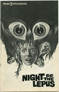 NIGHT-OF-THE-LEPUS-1972-JANET-LEIGH-16-pg-Unfolded-Complete-FINE
