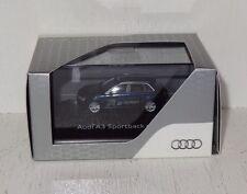 Herpa Audi A3 G-TRON Pressemodell mit Kennzeichen IN AG 3000 1:87 in PC (B4)