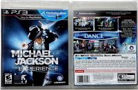 Jackson M. the Michael Jackson Experience 2011 Us Ubisoft Sony Ps3 Video Game