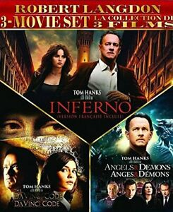 Robert-Langdon-3-Movie-DVD-The-Da-Vinci-Code-Angels-amp-Demons-Inferno-NEW