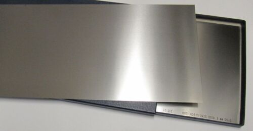 1.4310 ; L 150x150mm ; S:0,05-1,0mm+ Ensemble B Acier à Ressorts Crni