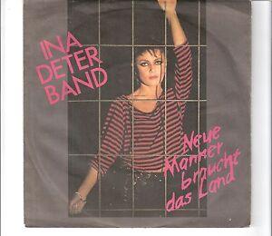Ina Deter Band Neue Männer Braucht Das Land Ebay