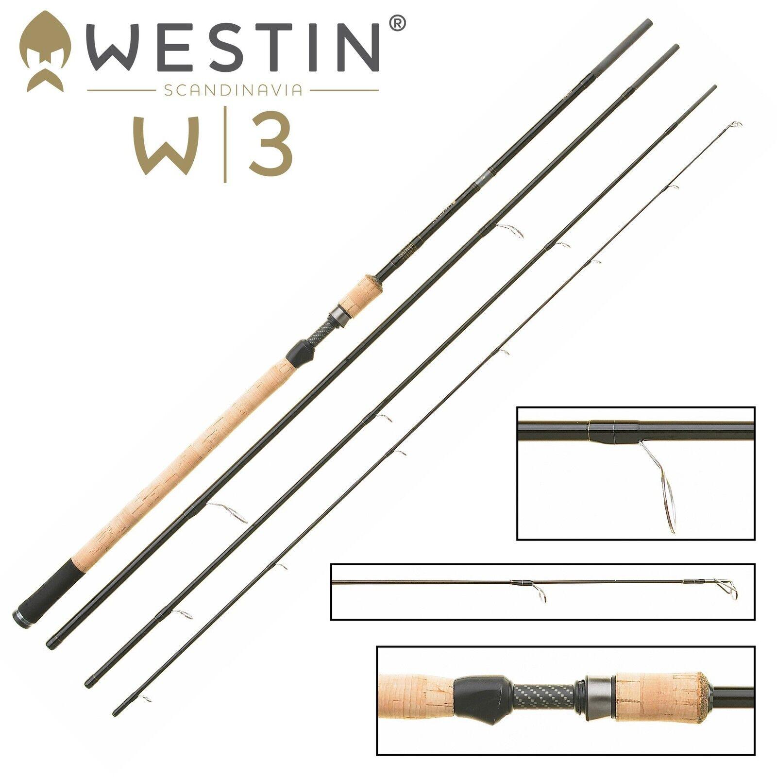 Westin Westin Westin W3 Ultralight Spin M 390cm 7-30g - Angelrute für Forellen, Spirolinorute 9e26e5