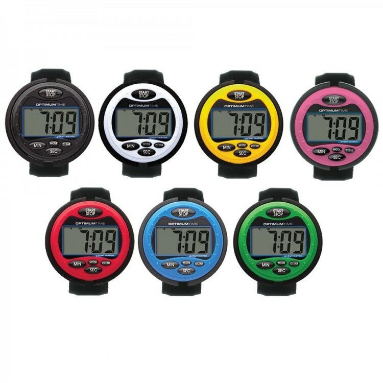 Optimum Time Ultimate Event Watch OE Series3 390Range LCD Screen Various Colours