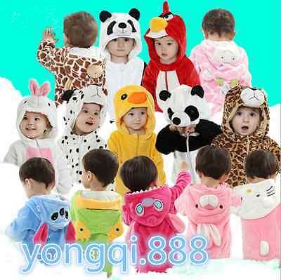 Soft Baby Toddlers' Pajamas Kigurumi Unisex Cosplay Animal  Costume romper