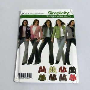Simplicity-Pattern-4954-Misses-Petite-Design-Your-Own-Lined-Jackets-Size-P5