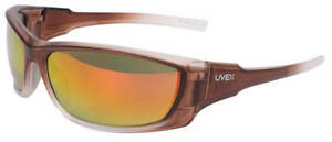 Uvex-A1500-Safety-Glasses-with-Brown-Frame-and-Red-Mirror-Lenses-ANSI-Z87