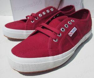 Superga-2750-Cotu-Classic-Canvas-Deck-Shoes-Plimsoll-Trainers-UK-8-9-9-5-10-New