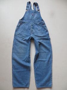 oginool-WERNER-Broesel-Latzhose-Latz-Jeans-Gr-M-ca-W-32-L-30-Sammlerstueck