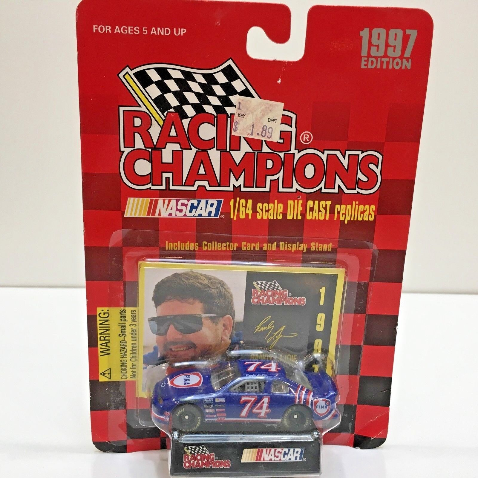 Racing Champions NASCAR  RANDY LAJOIE Edition 1 64 Diecast Car Toy