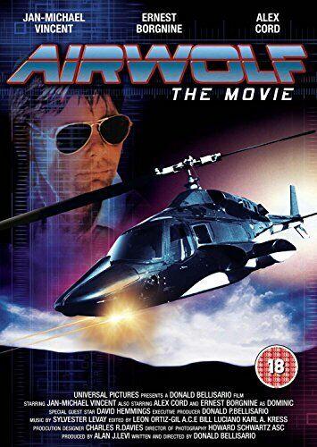 Airwolf The Movie [DVD] [1984] [DVD][Region 2]