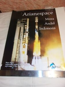POSTER-ARIANE-ARIANESPACE-MITRA-ANDAL-INDONESIA-PALAPA-C-2