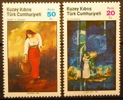 GemäßIgt Briefmarken Türkisch Zypern Postfrisch Minr 170-171 Satz 2 Werte ....... Von Der Konsumierenden öFfentlichkeit Hoch Gelobt Und GeschäTzt Zu Werden 1325