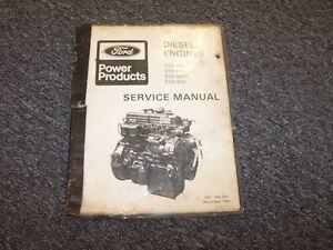 ford power products diesel engine workshop shop service repair rh ebay com Ford Power Generator Ford Lightning Foose Wheels