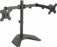 VIVO Dual Monitor Articulating Desk Stand Mount Adjustable Fits Screens upto 27""