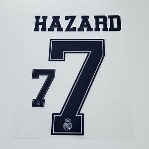 Real-Madrid-2019-2020-Eden-Hazard-Shirt-Jersey-Shirt-Name-Number-7-Set-Blue