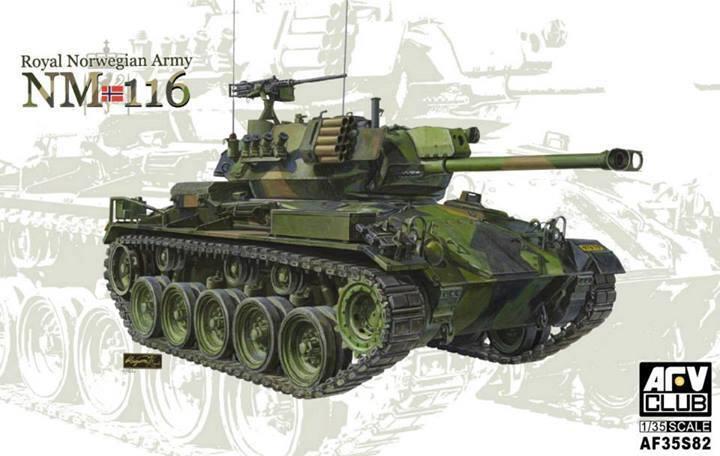 AFV Club 1 35 Scale NM116 Royal Norweigan Army Plastic Model Kit AF35S82