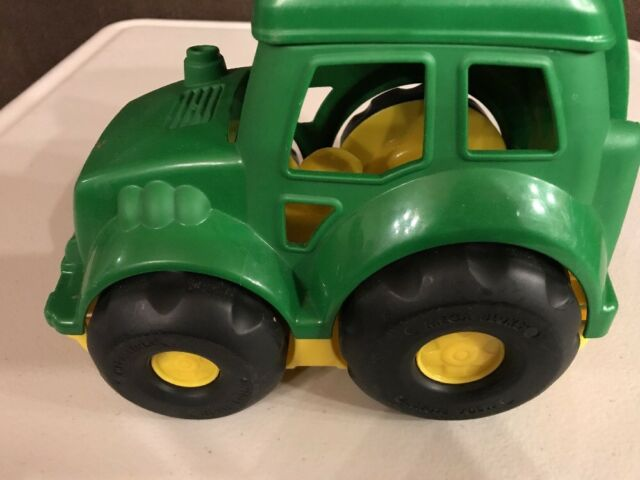 Original 6 Big Blocks John Deere Tractor By Mega Bloks Tractor only A19
