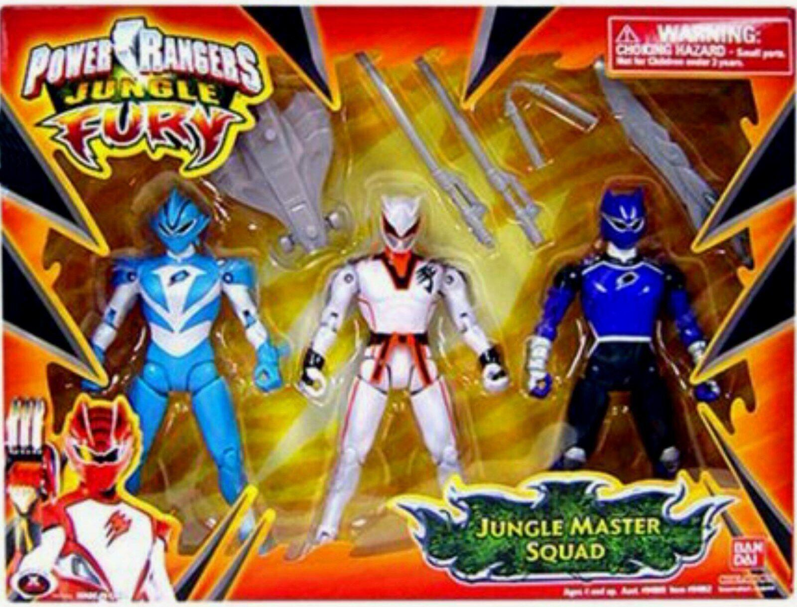 respuestas rápidas Power Rangers Rangers Rangers Jungle Fury selva maestro lobo Rhino tiburón morado nuevo sello de fábrica  orden ahora disfrutar de gran descuento