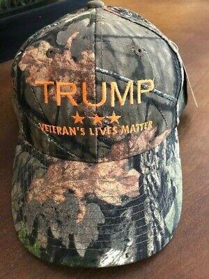 TWO HATS Veterans for Trump cap hat  Donald Trump for President 2016 Adjustable