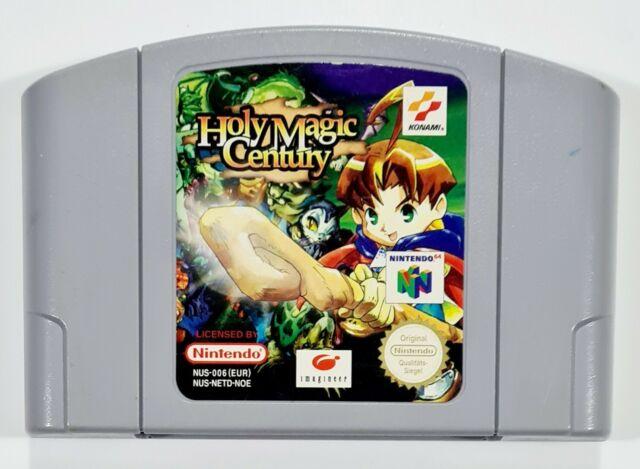 Nintendo 64 jeu de rôle Holy Magic Century DT PAL Action Adventure/Zelda