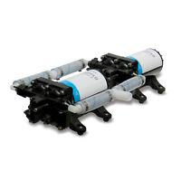 Shurflo High Flow Dual Pump System 24vdc 10gpm 55p
