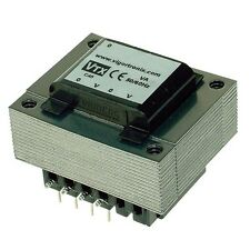 PCB 230V Mains Dual 115V Input Transformer 3VA Dual Secondary 12V PCB Mount Open