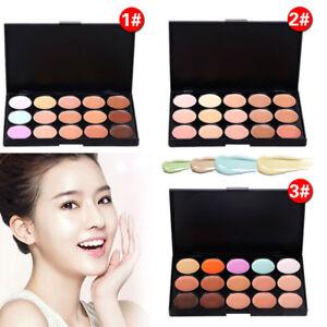 15-Colors-Makeup-Face-Cream-Contour-Kit-Concealer-Palette-Bronzer-Highlighter