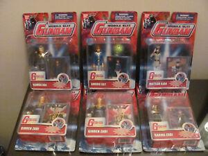 Nouvelle figurine scellée, lot de 6 combinaisons mobiles Gundam