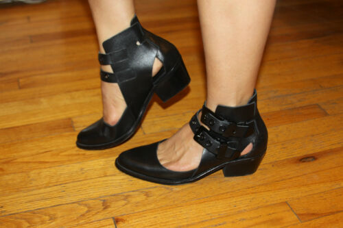 Cut Intentionally 8 out Bootie Sz THHFqwdvx
