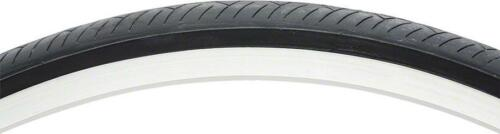 700 x 25C Clincher Steel Bead Black Vee Rubber Smooth Road Tire