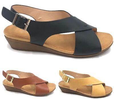 SALVADOR SAPENA Damen Pumps Sandalen kleiner Absatz Wildleder hellbraun