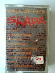 Slade Wall Of Hits Cassette 1991 Made in Saudi Arabia Polydor Brand New Sealed