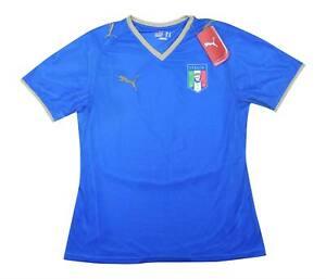 ITALIA 2007-08 ORIGINALE MAGLIETTA (NUOVA con etichetta) M (Da Donna) Soccer Jersey