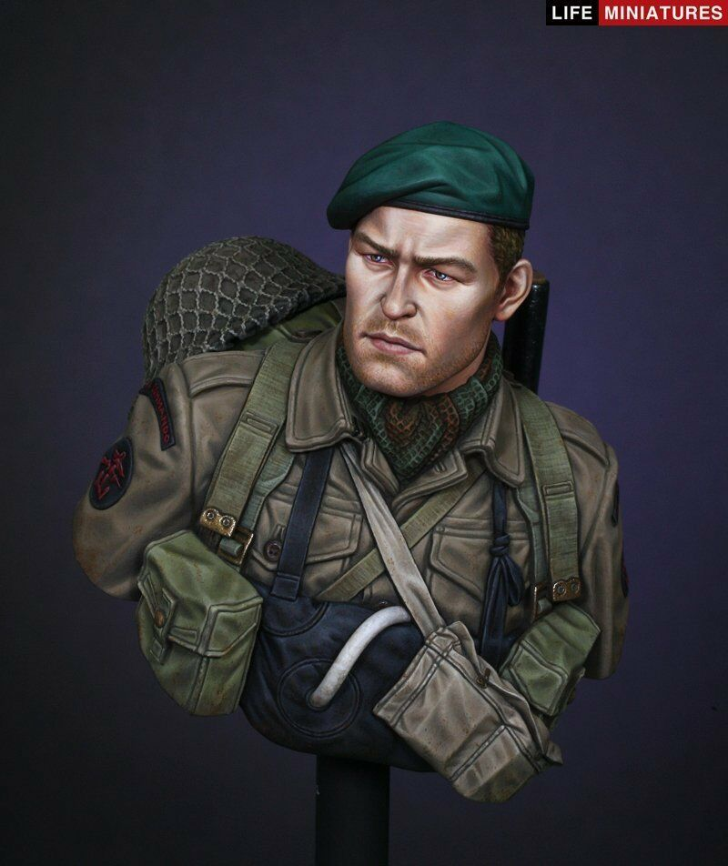 Life Miniatures B022 1 10 WWII British Commando on D-Day, June 1944