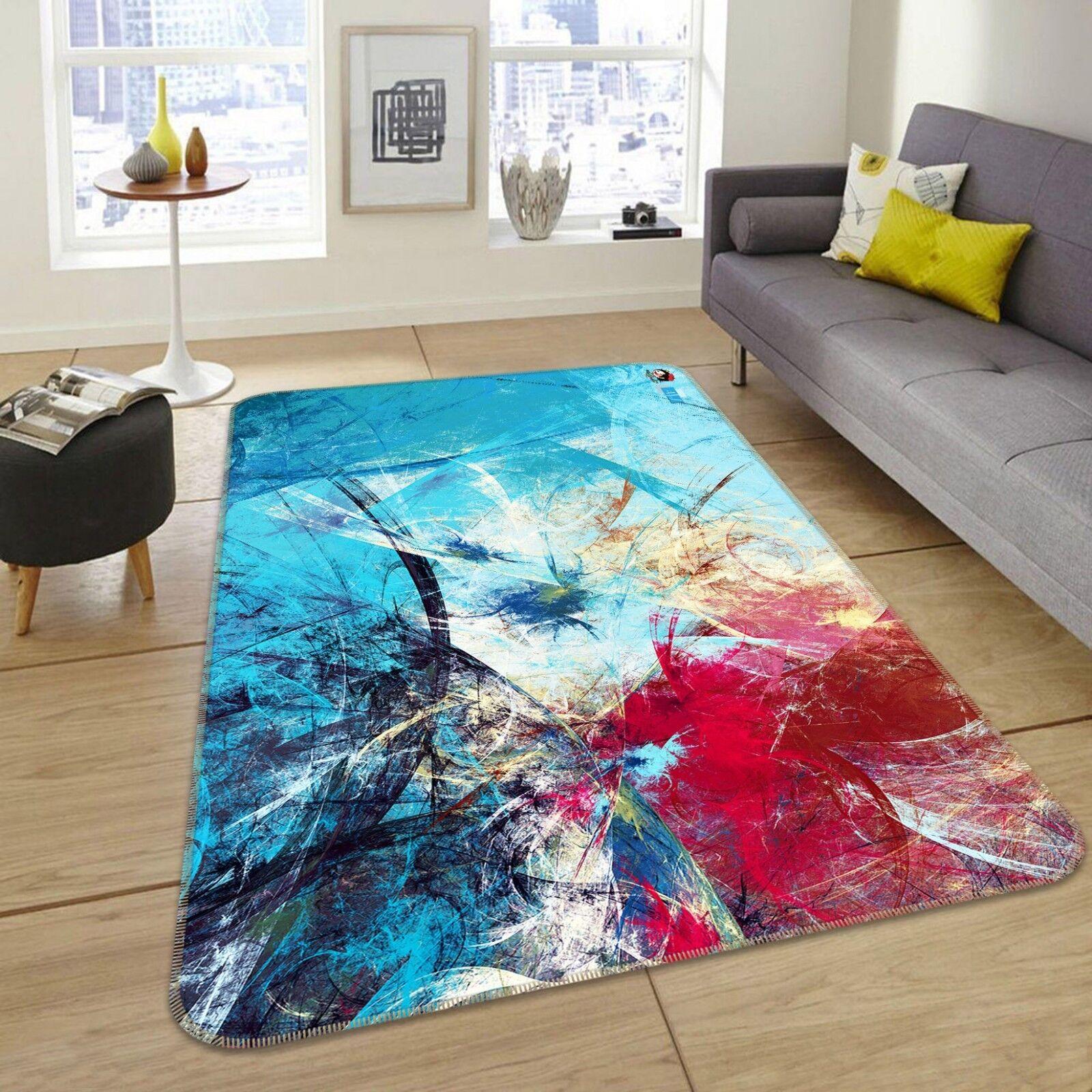 3d retro Design 55 antideslizante alfombra maletero calidad elegante alfombra de