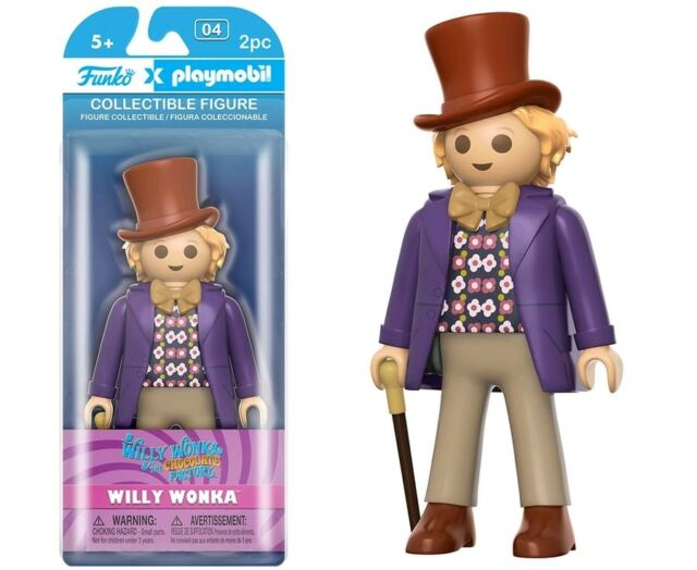 """5""""-7"""" Figures--Willy Wonka and the Chocolate Factory - Willy Wonka Playmobil"""
