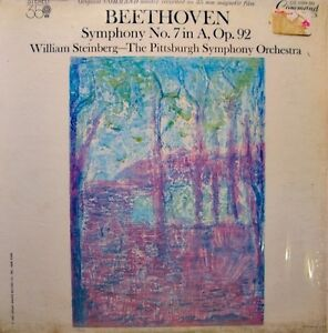 WILLIAM-STEINBERG-PITTSBURGH-SYMPHONY-ORCH-symphony-7-BEETHOVEN-LP-USA-EX