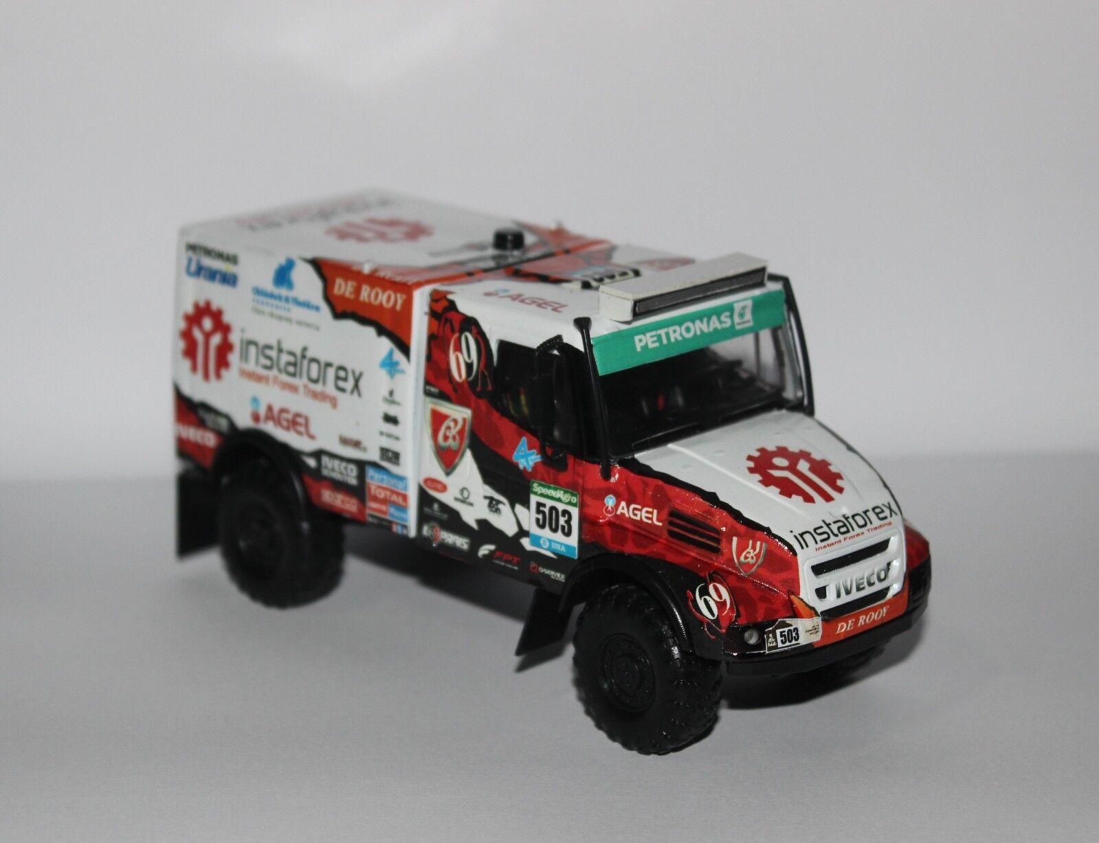 Iveco Rally DAKAR RAID 1 43 camión hecho a mano