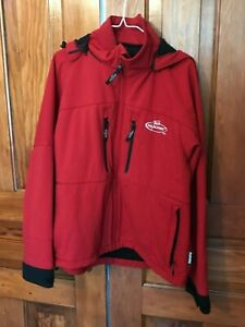 Team-Realtree-Windstopper-Gore-tex-Jacket-Red-size-large