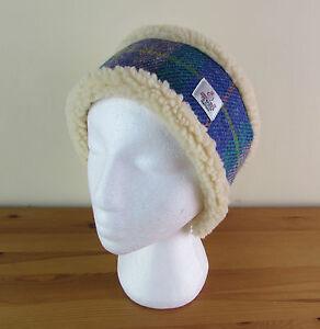 Harris Tweed Head Warmer    Headband - Pinks and Purples e87978e9c0f